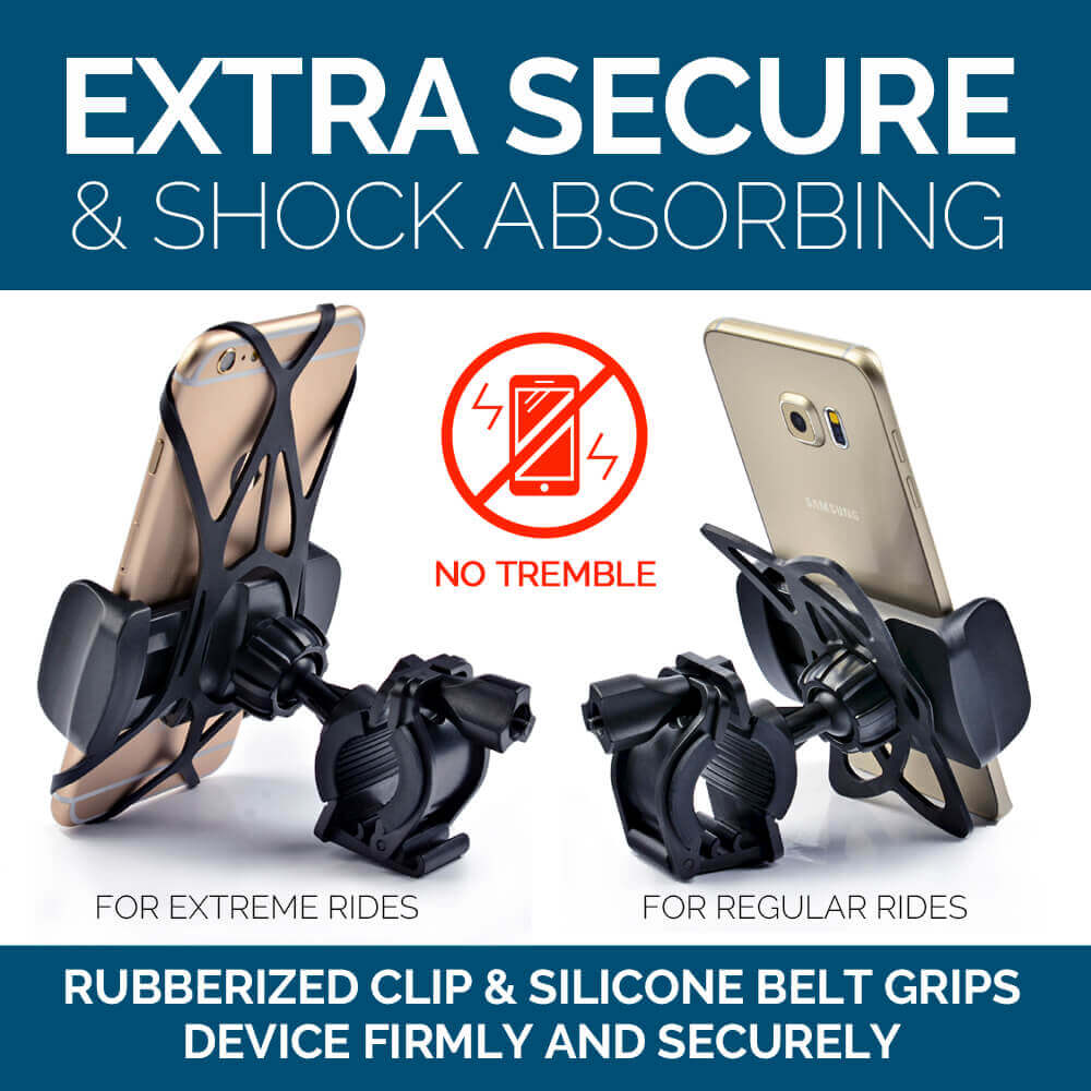 Extra secure & shock absorbing